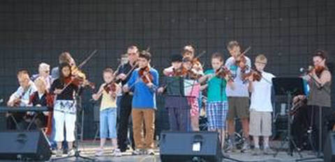 old time fiddlers - kids