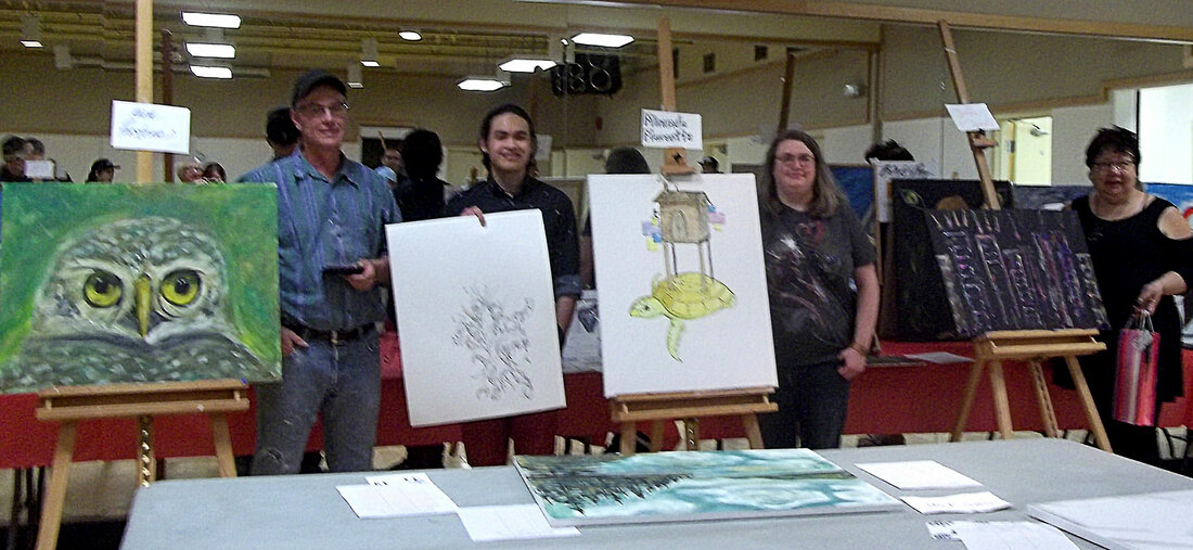 Sketch & Paint Competition Winners